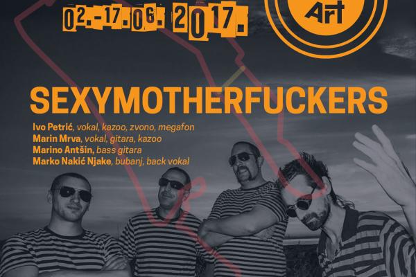 Velika završnica KvartArta donosi koncert Sexymotherfuckersa!