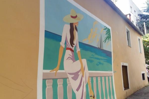 Mural Valentina Radmana kao uspomena na ovogodišnji KvartArt