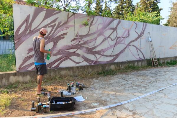 Grafiter Chez 186: Zid vam sam priča!