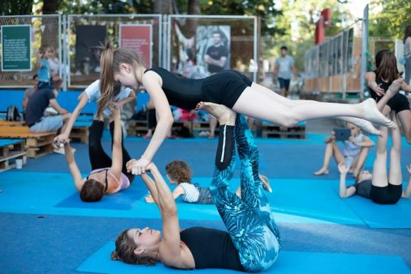 Circo art poslijepodne u Kvartu: Vratolomije i trening snage
